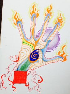 Janell's hand colored
