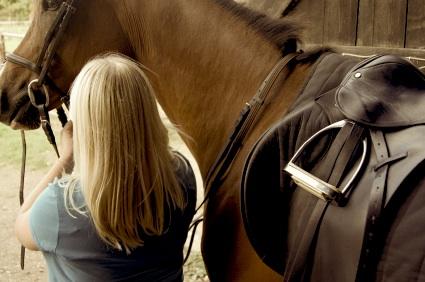 girl w:horse